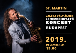 St.Martin lemezbemutató koncertje